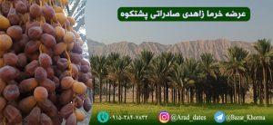 خرمای زاهدی صادراتی پشتکوه
