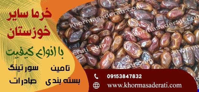 انواع خرمای سایر خوزستان
