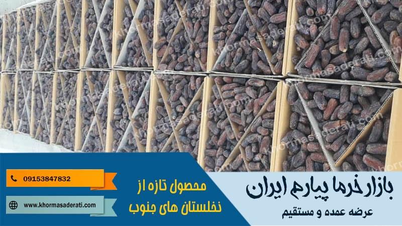 بازار خرما پیارم ایران